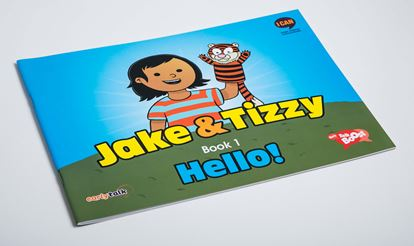 Jake and Tizzy Book 1 – Hello!