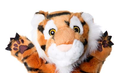 Tizzy the Tiger puppet 1